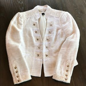 Gorgeous Cream WHBM Jacket 8 Great Condition